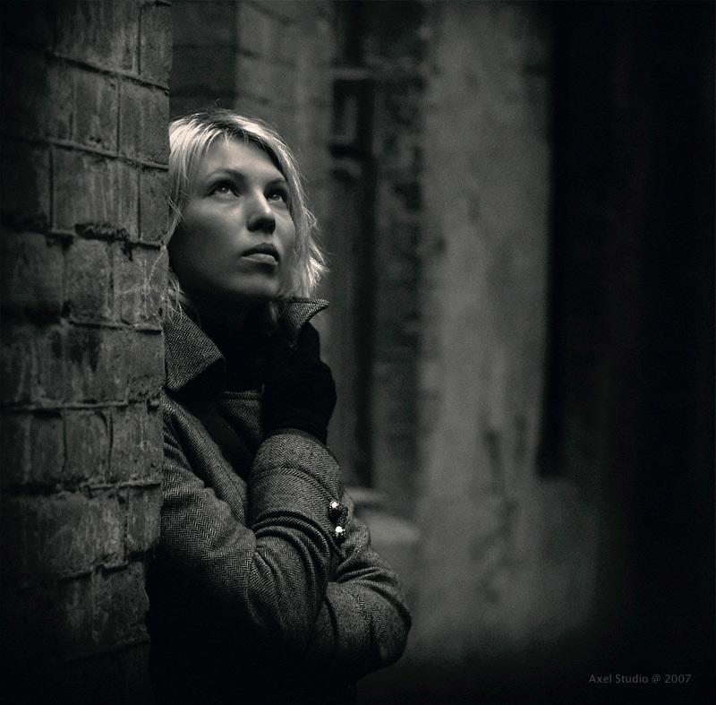 """фото """"Большие города #6/1..."""" метки: портрет, черно-белые,"""