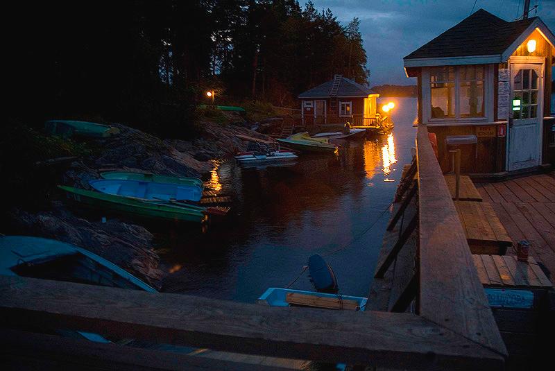 """фото """"ночь, причал"""" метки: пейзаж, вода, ночь"""