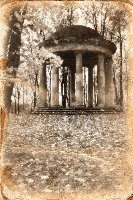"фото ""По пушкинским местам."" метки: архитектура, черно-белые, пейзаж,"