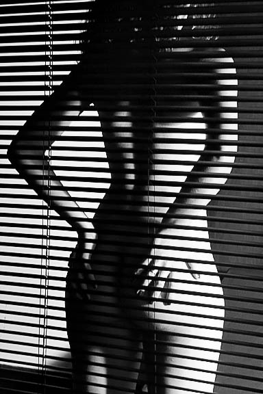 "photo ""Voyeur #2"" tags: portrait, nude, woman"