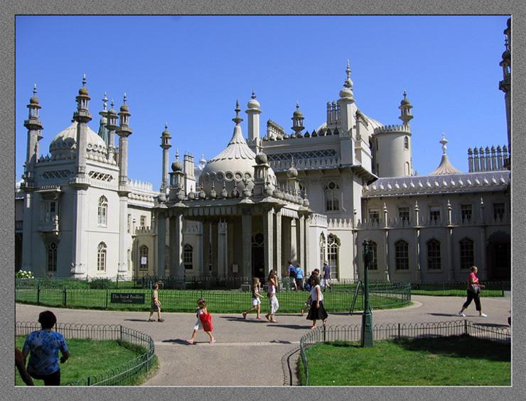"""фото """"Королевский павильон в Брайтоне"""" метки: архитектура, город, пейзаж,"""