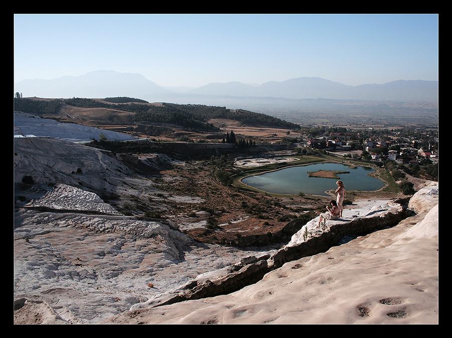 "photo ""Pamukale"" tags: landscape, travel,"
