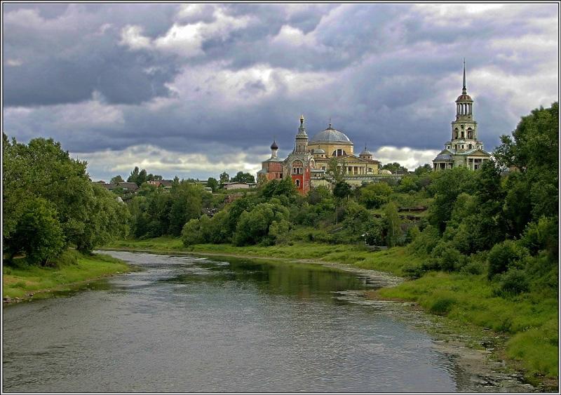 """фото """"Торжок-2"""" метки: пейзаж, архитектура, лето"""