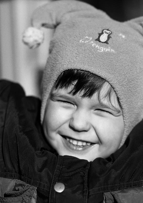 """фото """"Радость"""" метки: портрет, черно-белые, дети"""