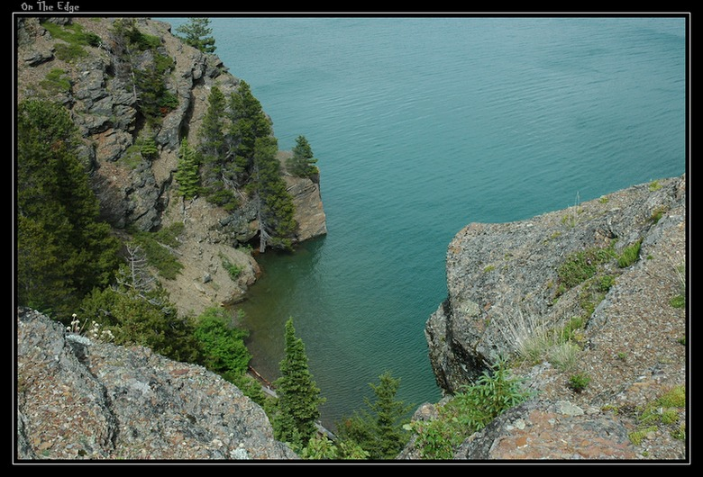 "photo ""On The Edge"" tags: landscape, travel, North America, water"