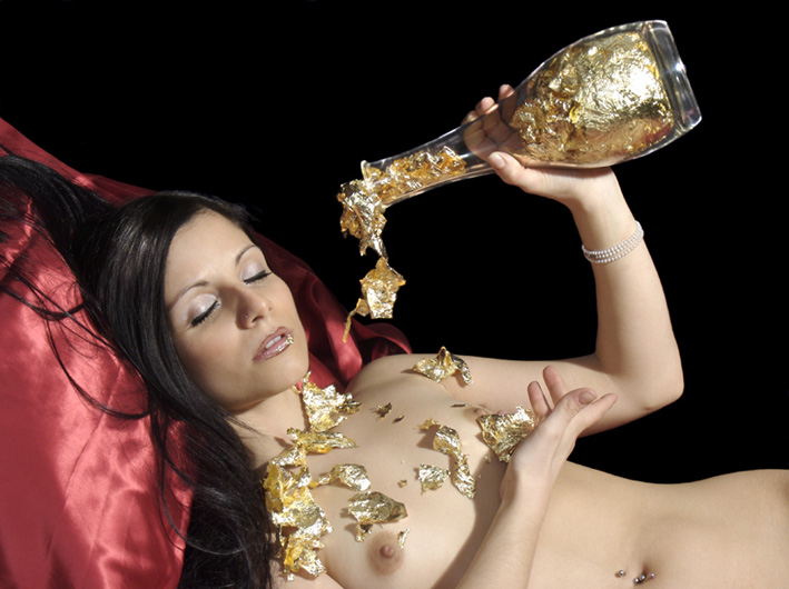 """photo """"Gold Water"""" tags: nude, glamour,"""