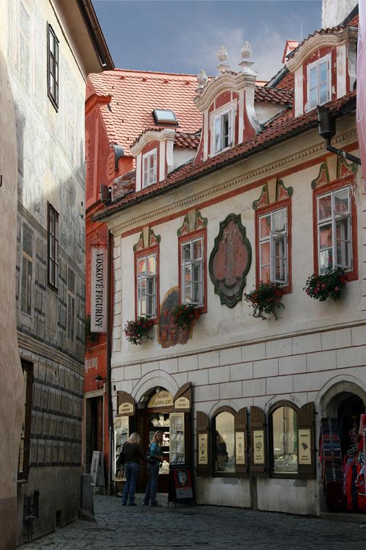 "фото ""30393 Czeske Krumlov"" метки: архитектура, путешествия, пейзаж, Европа"