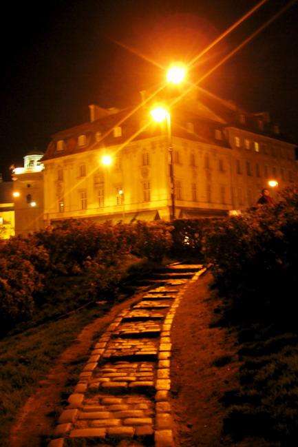 "фото ""Warsaw at night - 2"" метки: архитектура, город, пейзаж,"