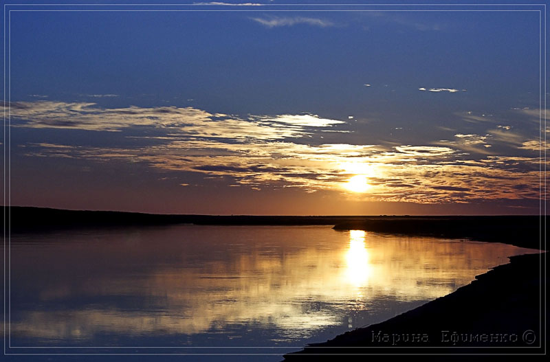 "фото ""почти закат"" метки: пейзаж, закат"