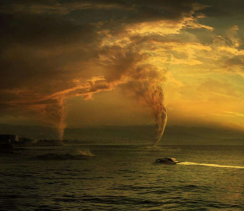 """фото """"Dangerous weahter"""" метки: пейзаж, жанр, вода"""