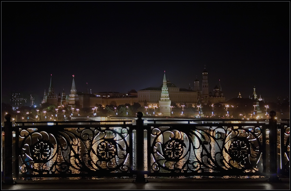 "photo ""The evening Moscow"" tags: city,"