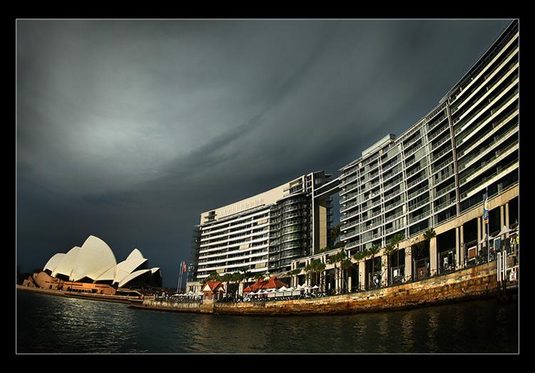 "photo ""..."" tags: architecture, travel, landscape, Australia"