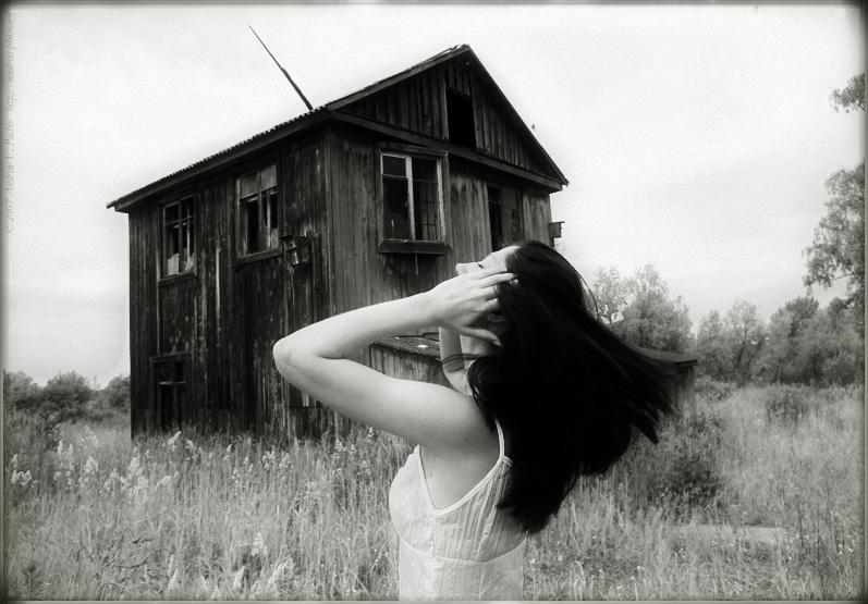 """фото """"Домик со Скворечником"""" метки: абстракция, черно-белые,"""