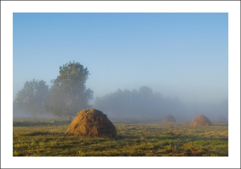 """фото """"светлое утро"""" метки: пейзаж, осень"""