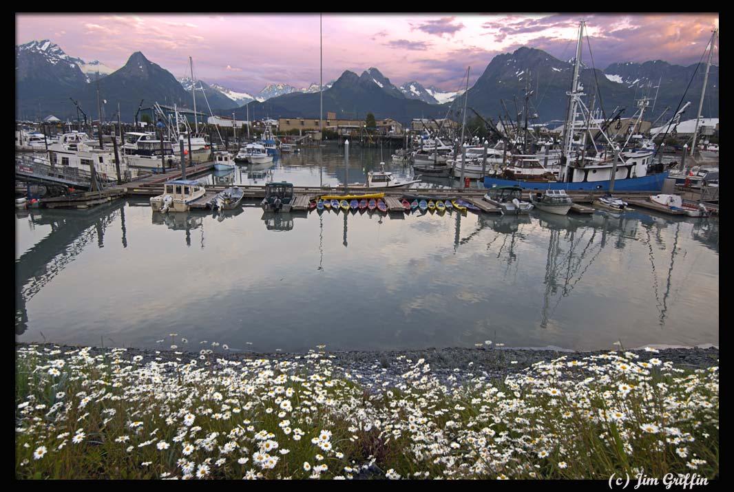 """фото """"Valdez, Alaska photo1"""" метки: пейзаж, вода, горы"""