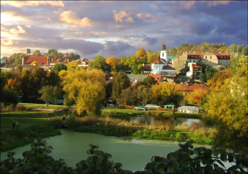 """фото """"Заречный."""" метки: архитектура, пейзаж, осень"""