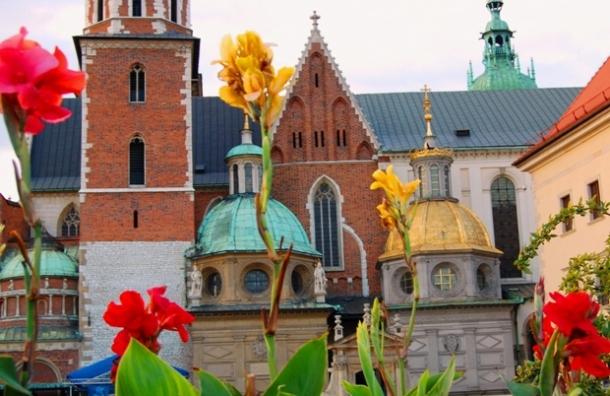 """фото """"Замок Вавель и его цветы"""" метки: архитектура, путешествия, пейзаж, Европа"""