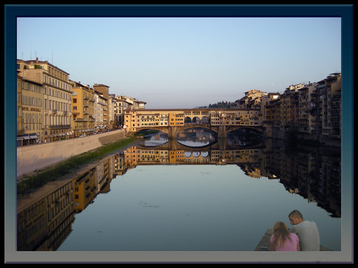 "photo ""Florence - Old Bridge"" tags: travel, Europe"