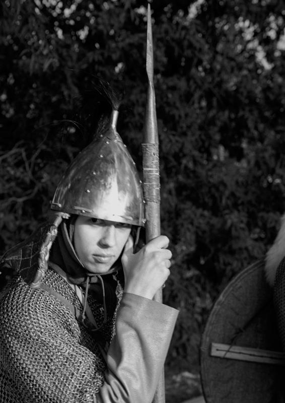 """фото """"Русский воин"""" метки: портрет, черно-белые, мужчина"""