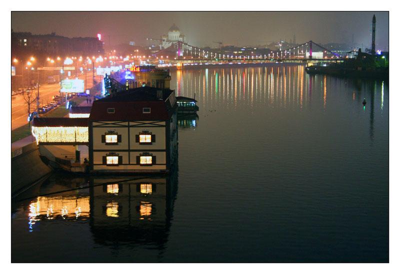"""фото """"Ночное лицо города"""" метки: город, пейзаж, ночь"""
