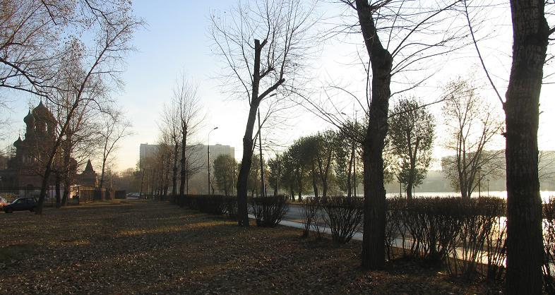 """фото """"Утро раннее..."""" метки: пейзаж, осень"""