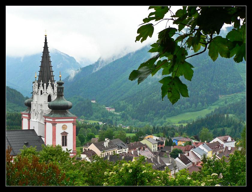 """фото """"Mariazell"""" метки: пейзаж, архитектура, горы"""