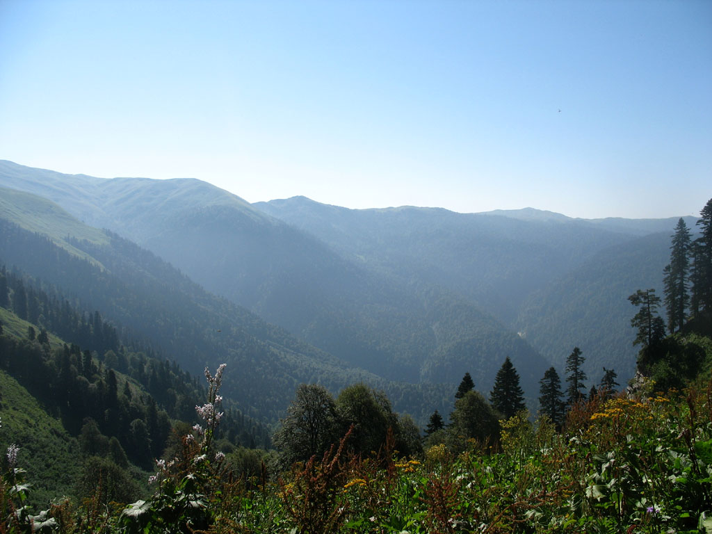 """фото """"Кавказ"""" метки: пейзаж, горы, лето"""