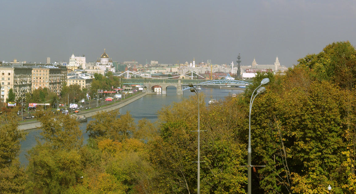 "фото ""Осенний смог"" метки: пейзаж, архитектура, осень"
