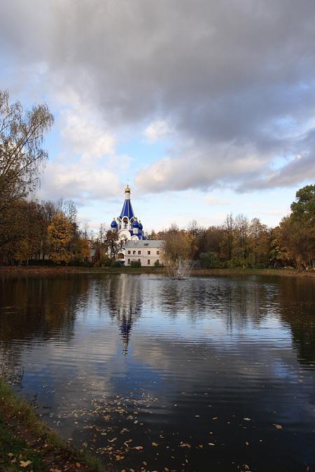 "фото ""Вечереет"" метки: пейзаж, осень"