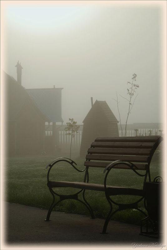 """фото """"Утро, тишина, туман..."""" метки: архитектура, пейзаж,"""