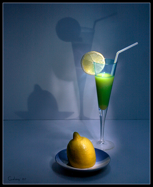 "photo ""Yellow-green still life with shadows"" tags: still life, abstract,"