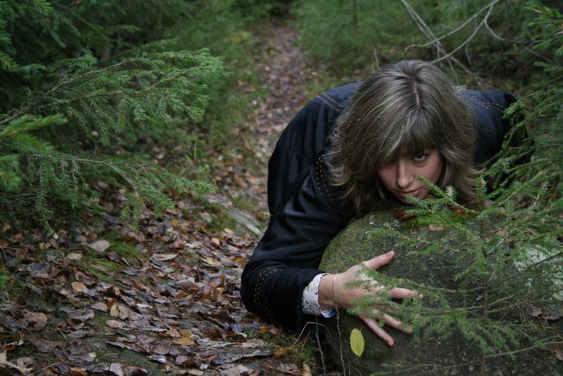 """фото """"Заяц за камнем"""" метки: портрет, женщина"""