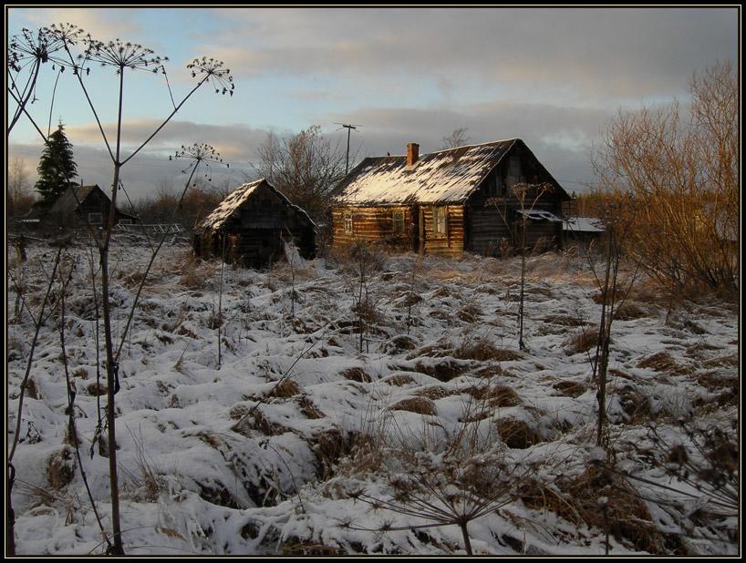 """фото """"Вот и первый снег."""" метки: пейзаж,"""
