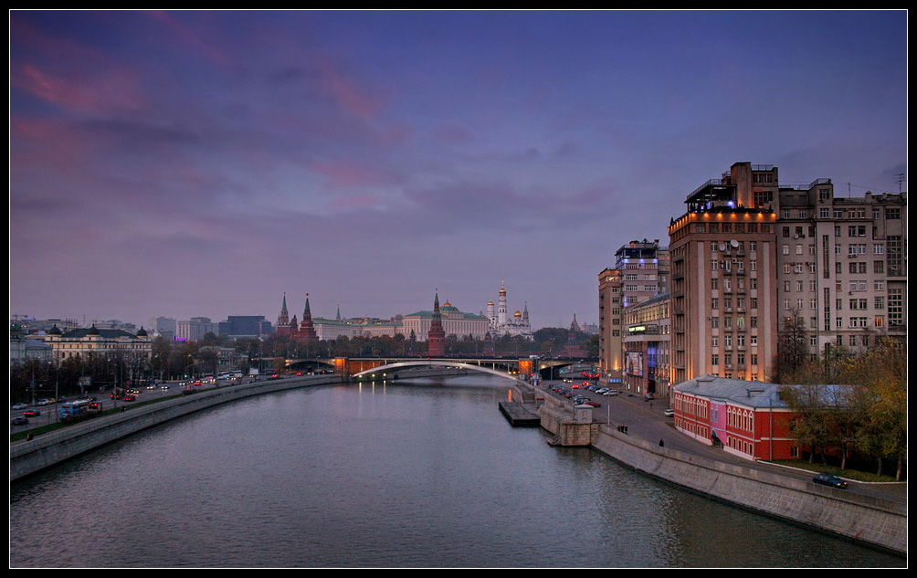 "photo ""Evening City. Kremlin"" tags: architecture, city, landscape,"