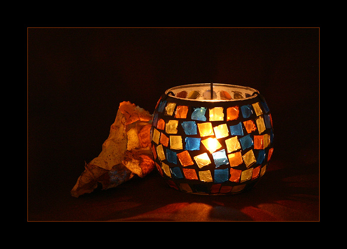 "photo ""Tea-light"" tags: still life,"