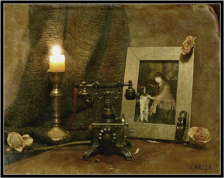 "фото ""Звонок в прошлое"" метки: натюрморт,"