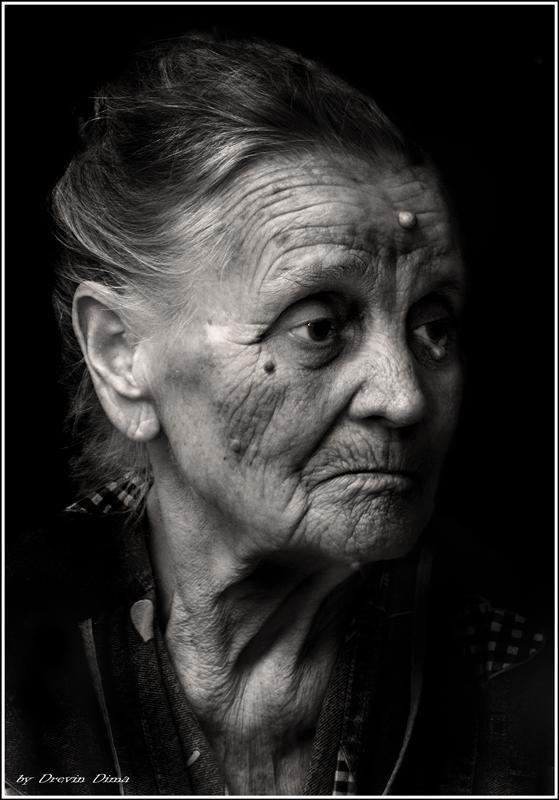 """фото """"Годы"""" метки: портрет, черно-белые, женщина"""
