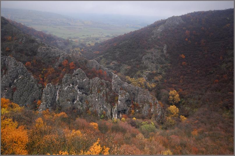 "photo ""Among rocks and fog"" tags: landscape,"