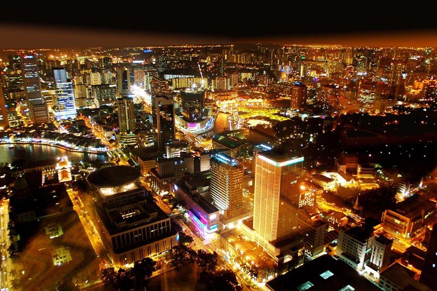 """фото """"Сингапур"""" метки: город,"""