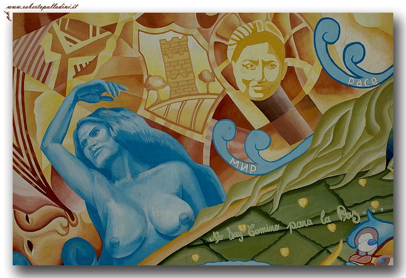 "photo ""Murales"" tags: interior, architecture, landscape,"