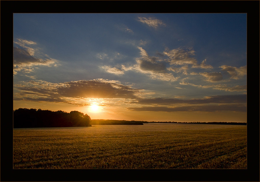 "photo ""***"" tags: landscape, summer, sunset"