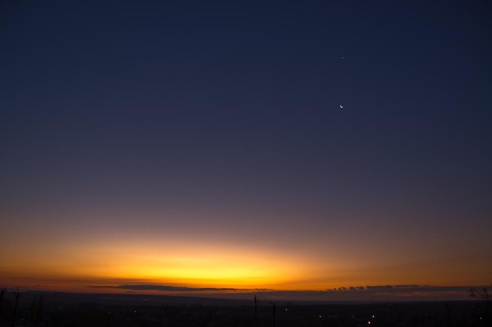 """фото """"за секунду до рождения"""" метки: пейзаж, закат"""