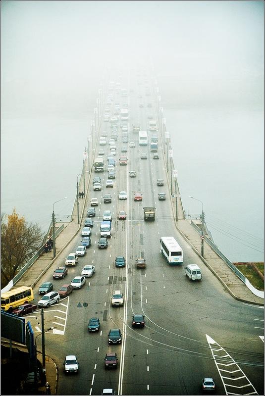 """фото """"Туманная перспектива"""" метки: пейзаж, город,"""
