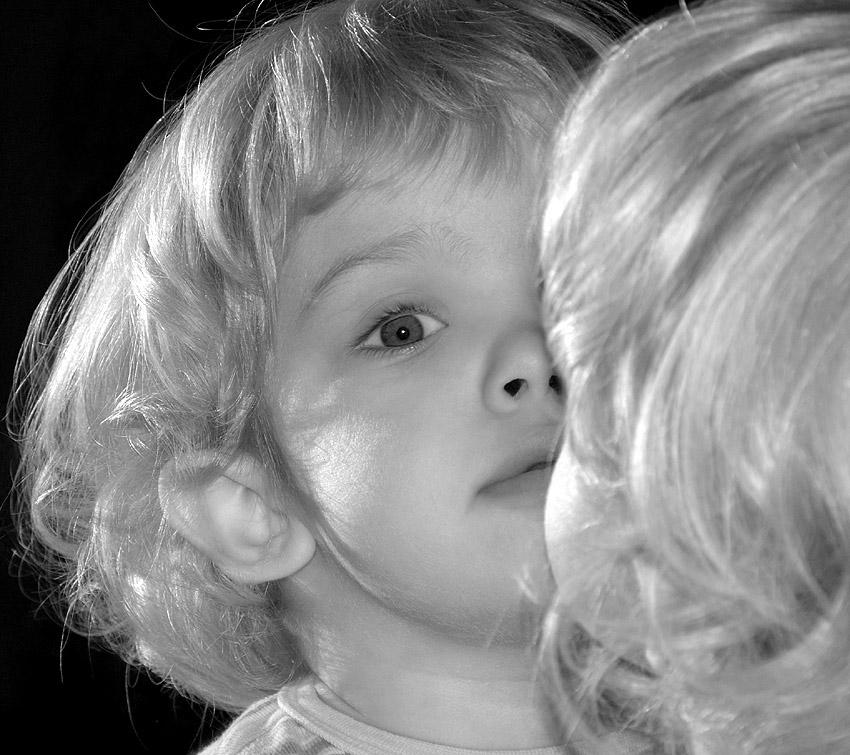 "photo ""My daughter"" tags: portrait, children"