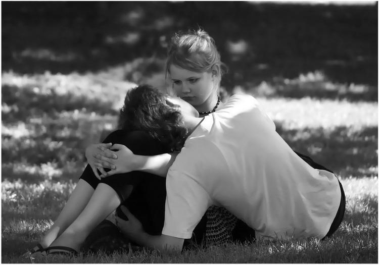 """фото """"А ты меня любишь? Ага!!!"""" метки: жанр, черно-белые,"""