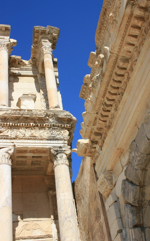 "photo ""The sky of the ancient Ephesus..."" tags: travel,"