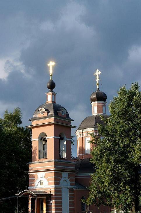"photo ""Butovo...District ... the sad place"" tags: architecture, landscape,"