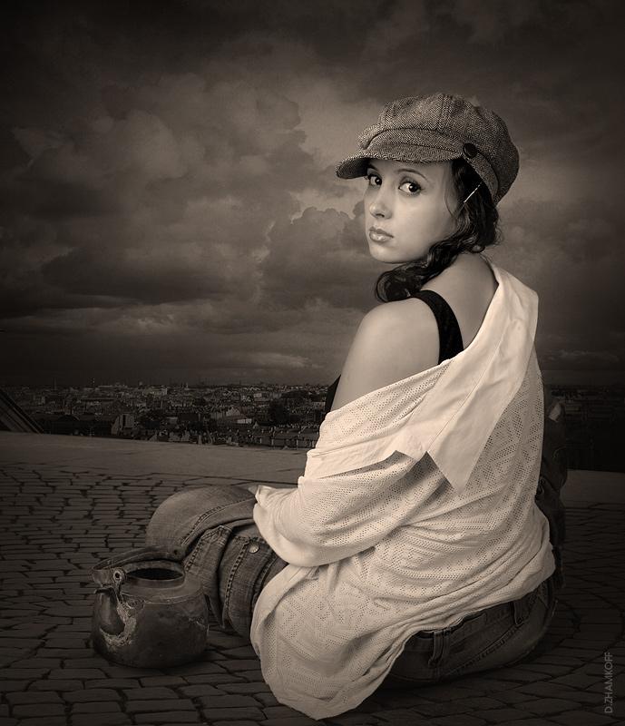 """фото """"De la hauteur"""" метки: портрет, гламур, женщина"""