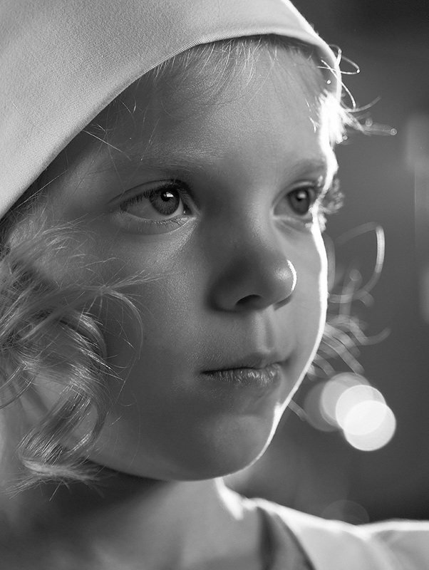 "photo ""childhood"" tags: portrait, black&white, children"
