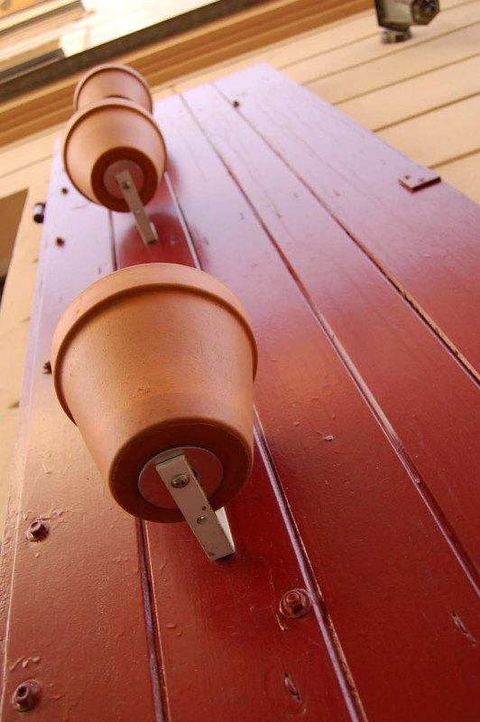 """photo """"Kazimierz's pots"""" tags: interior, architecture, landscape,"""
